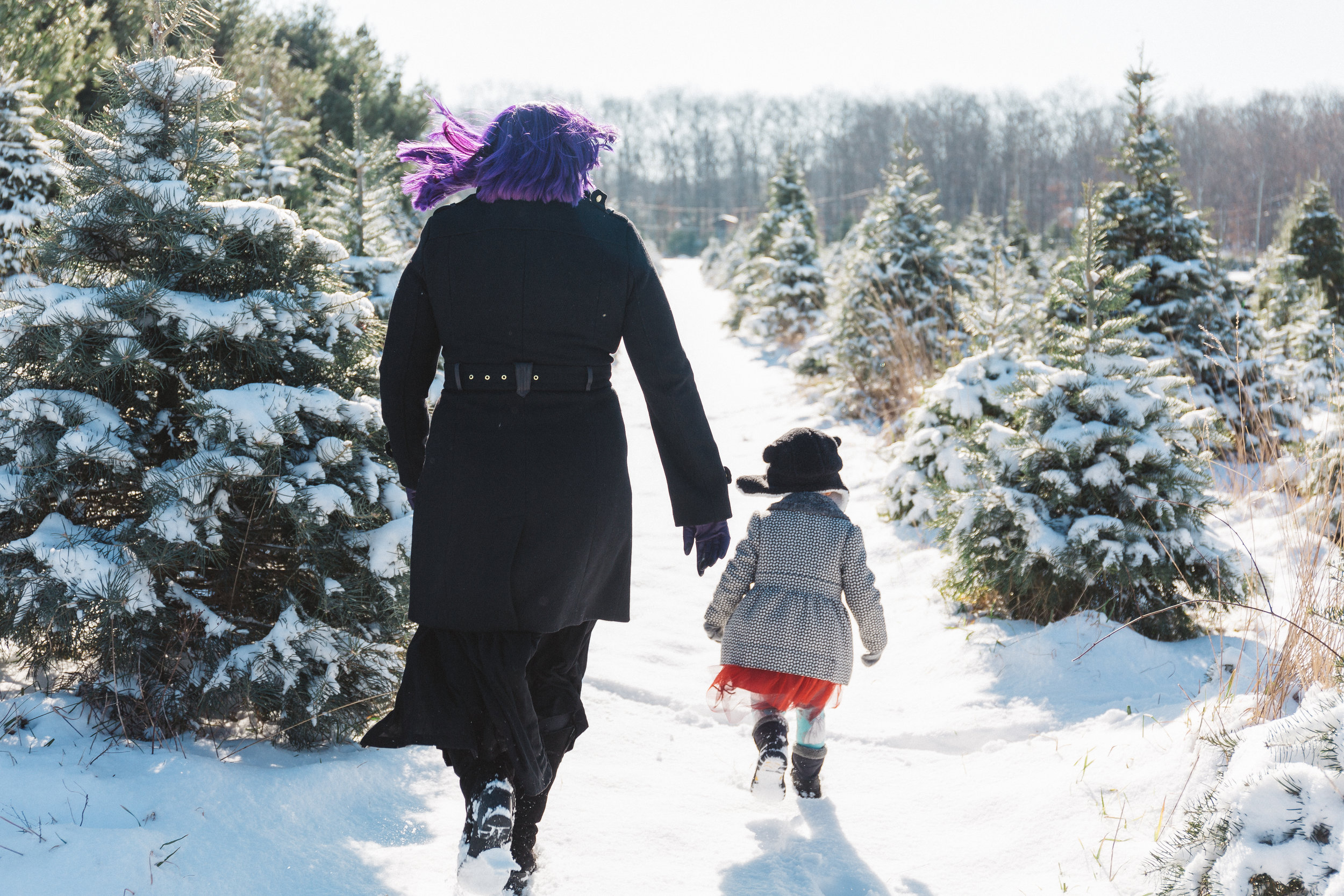 - She enjoyed that experience so much that she hired me for family photos that winter.