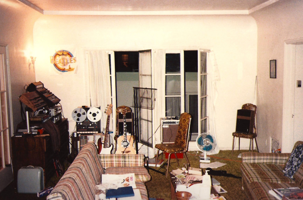 Right after college I moved to LA to attend GIT. This is a shot of my first apartment, located at 644 Landfair Ave., Westwood.