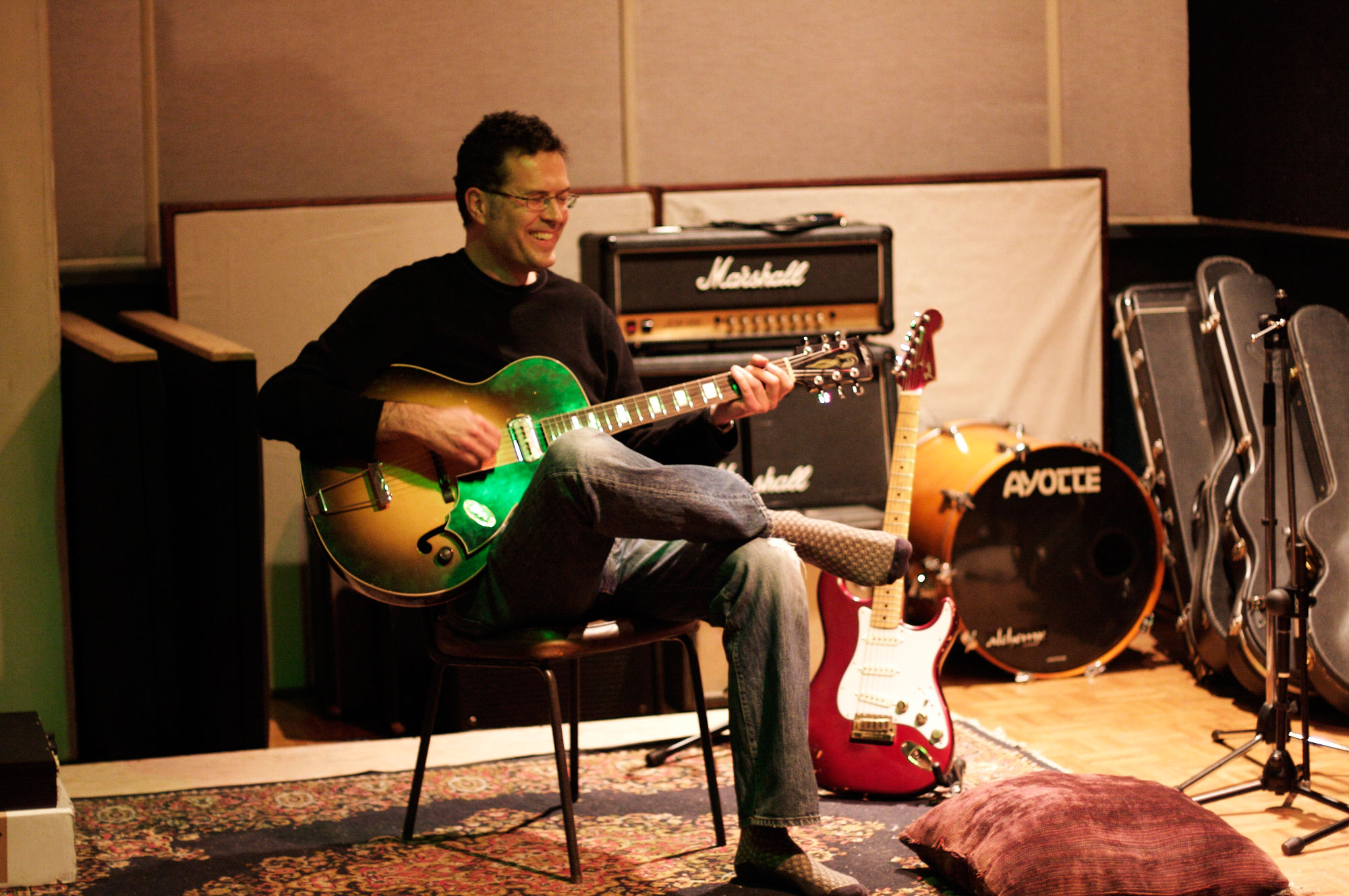 Jaimeson Durr, the owner and lead engineer of Hyde Street Studio C in San Francisco, the studio at which I record EVERYTHING.