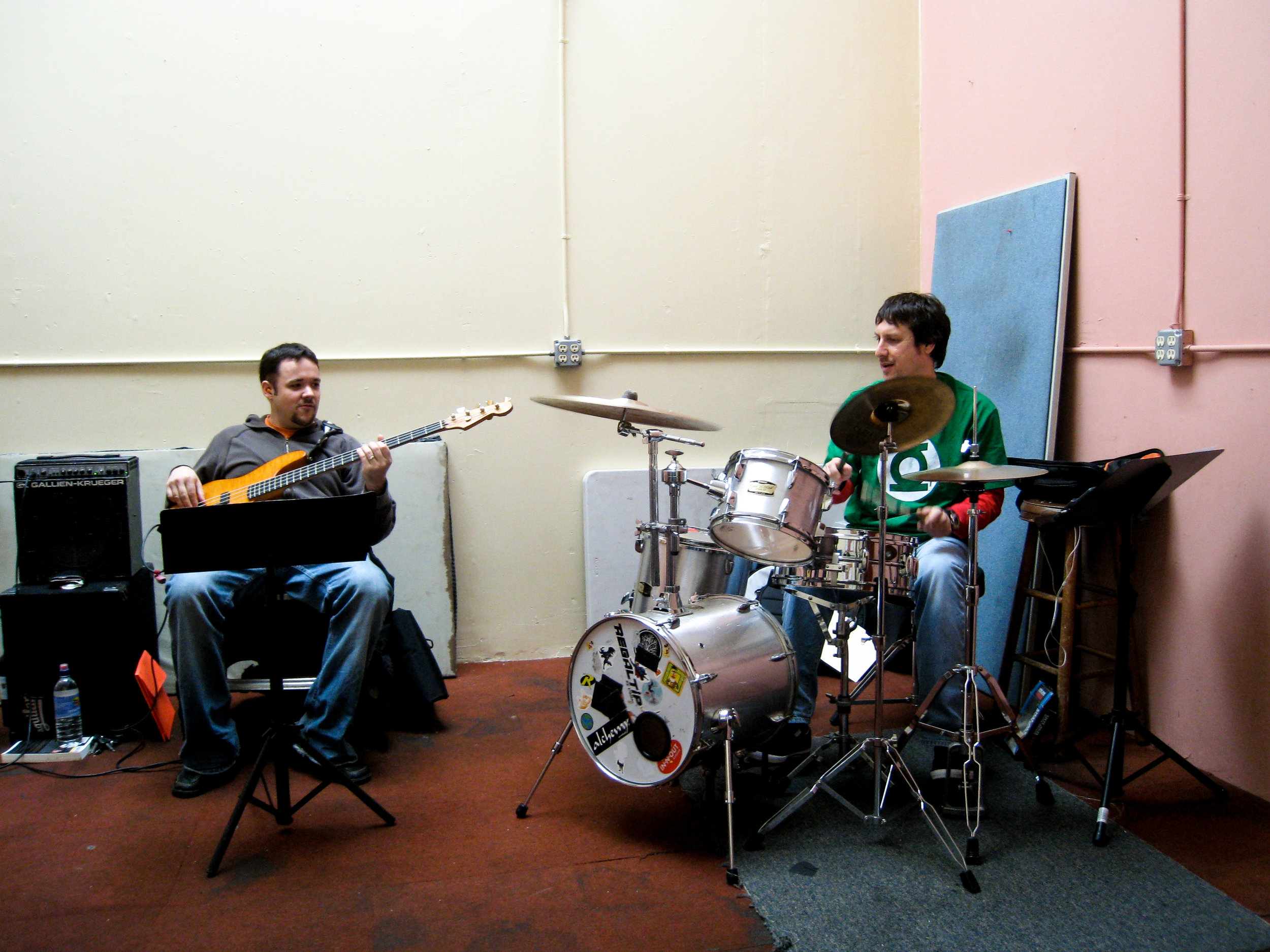 Sam Bevan (L) and Andy Korn (R)