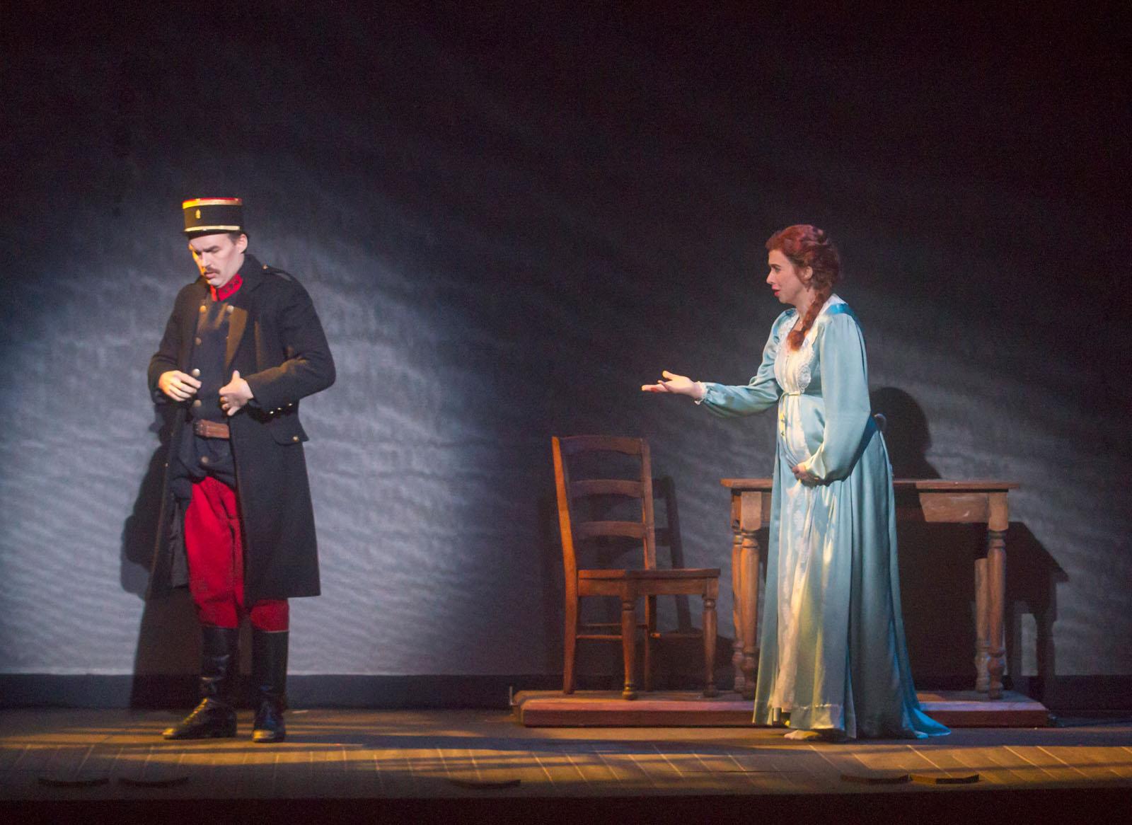 Madeleine Audebert in Silent Night at Opera San Jose