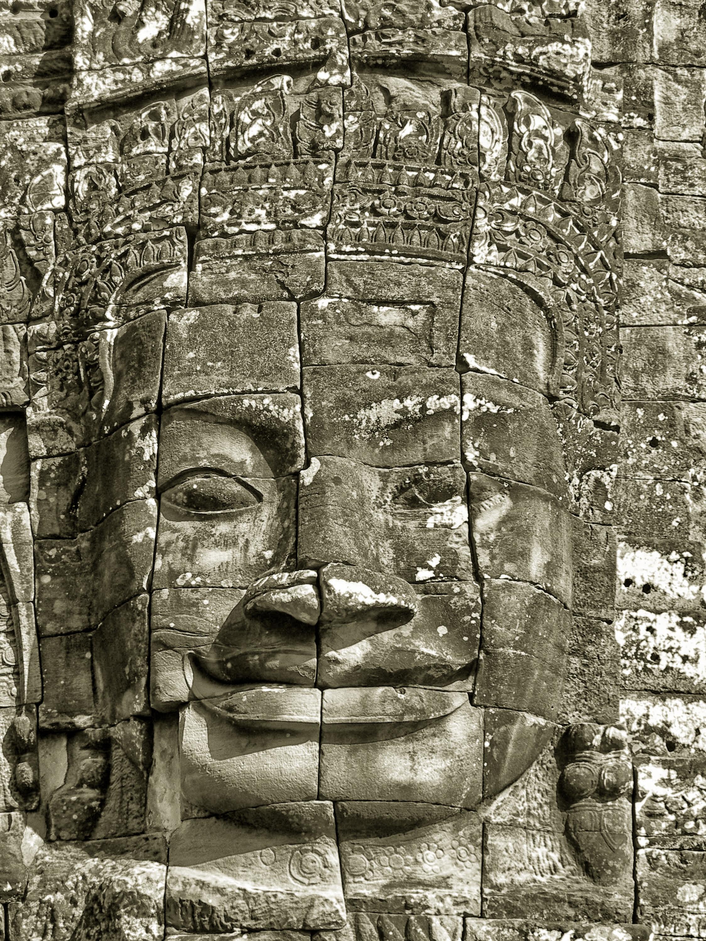 Buddha face of Bayon