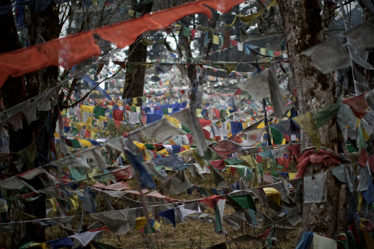 Prayer Flags on Dochula Pass