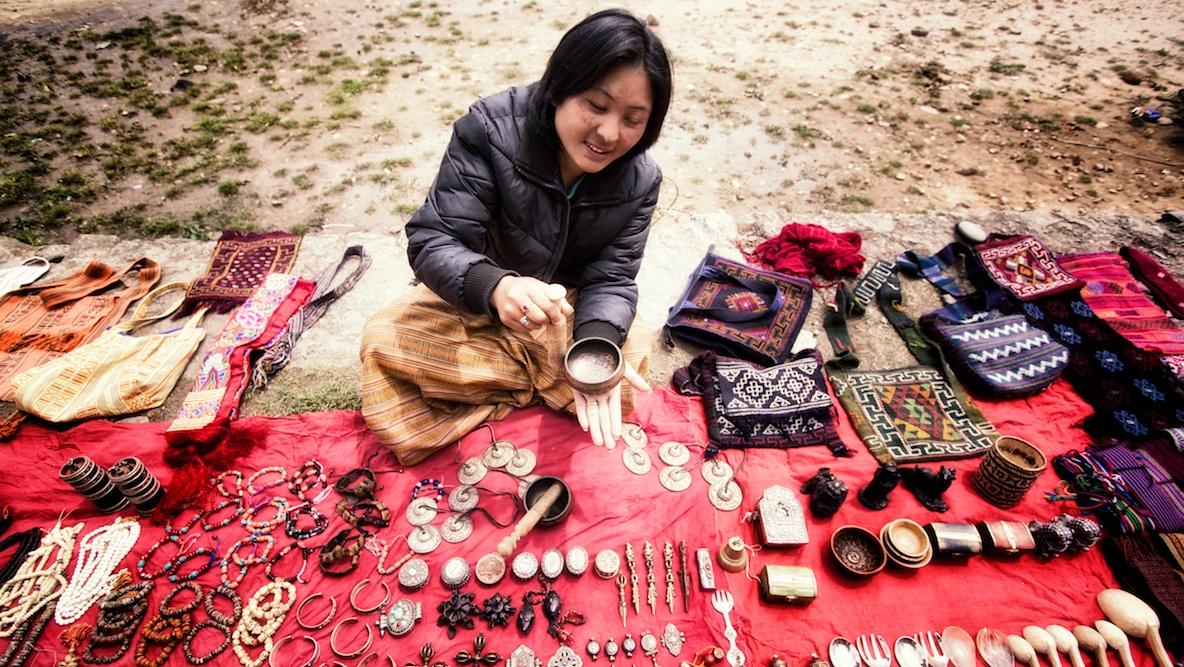 """high pressure"" selling in Bhutan"