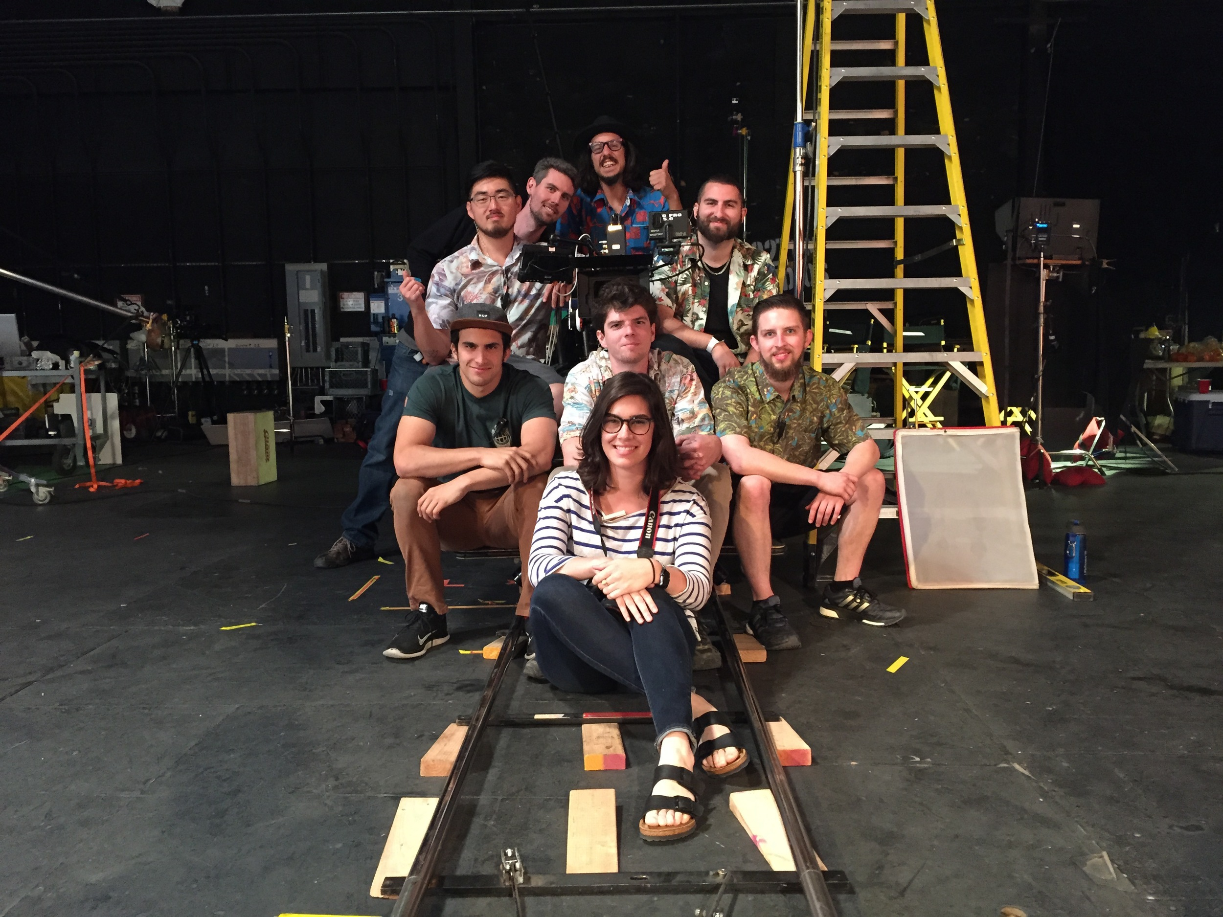 Camera, G&E, and Sound Departments