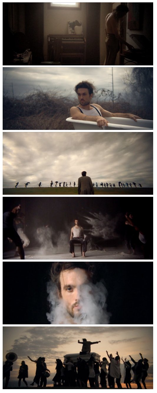 Screen Shots from iPhone music Video