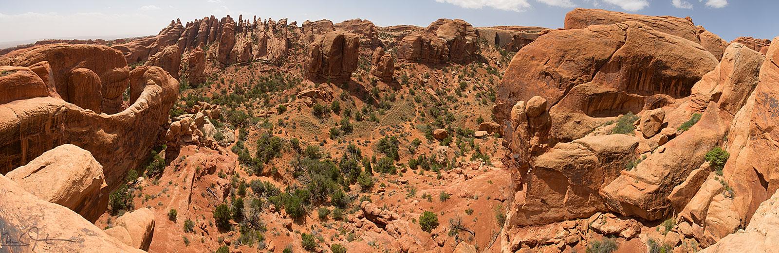 Devil's Garden, Arches National Park, near Moab, Utah.