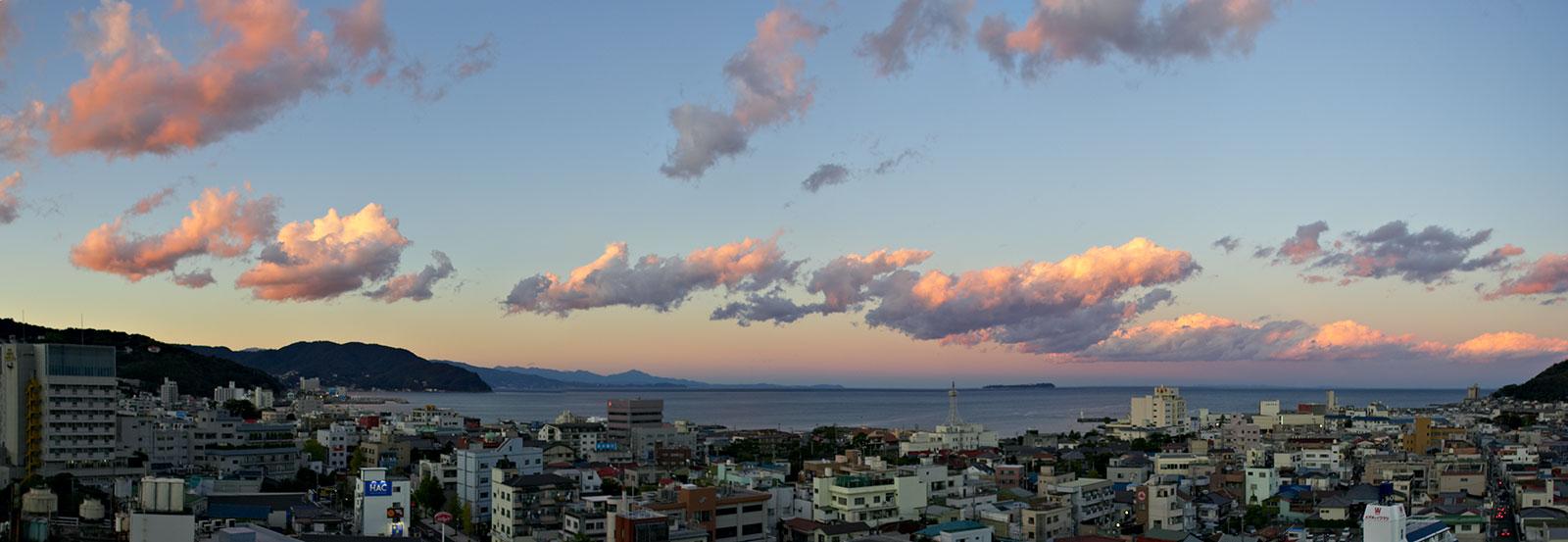 Ito, a city on the east coast of Japan's Izu Peninsula.