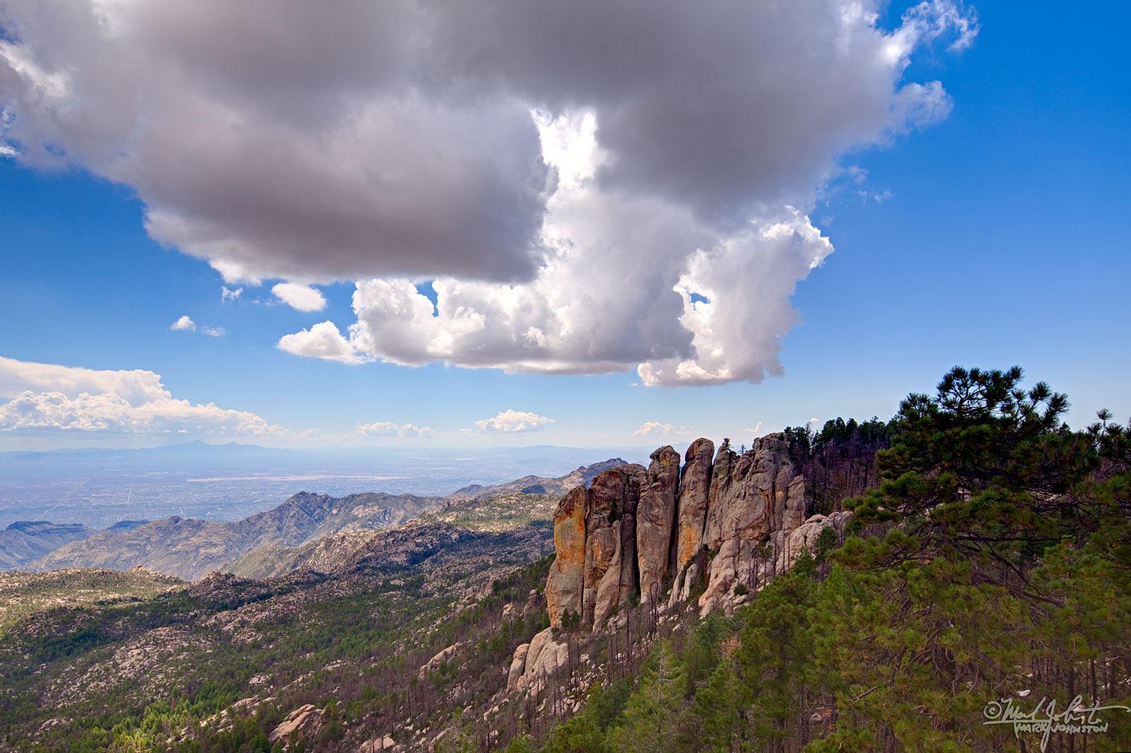Santa Catalina Mountains near Tucson, AZ.