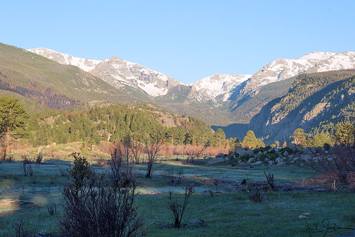 Moraine Park, Rocky Mountain National Park.