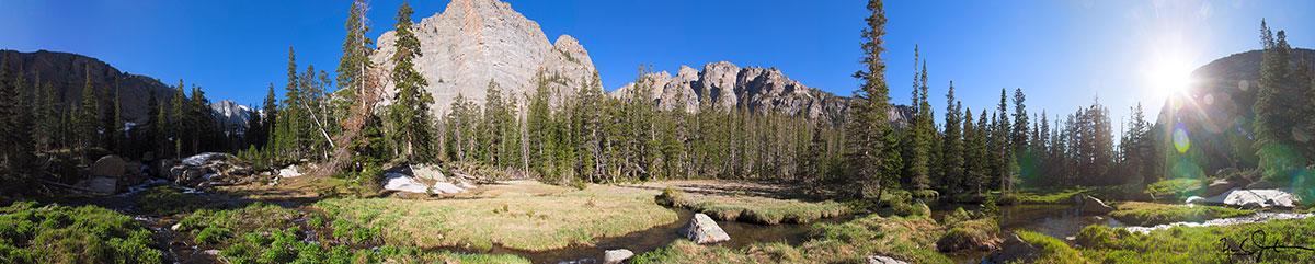 Loch Vale, Rocky Mountain National Park.