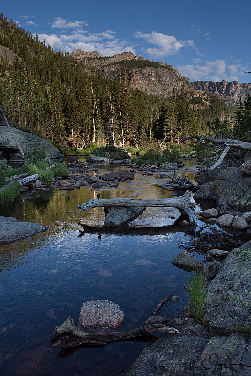 Near Mills Lake, Rocky Mountain National Park.