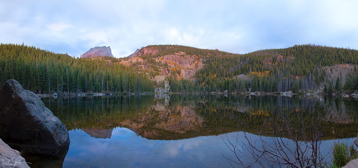 Bear Lake at dawn.
