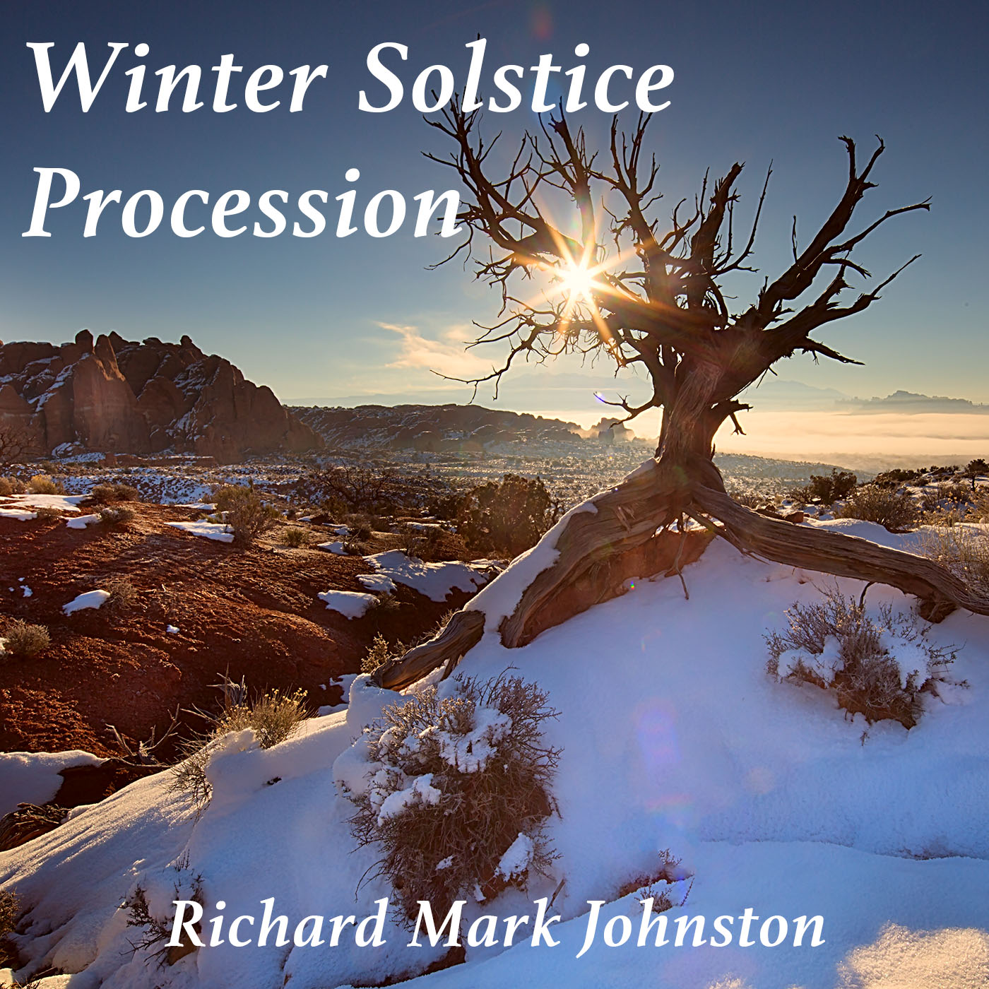 This image was taken on the day of the Winter Solstice in December 2013 in Arches National Park near Moab, Utah.