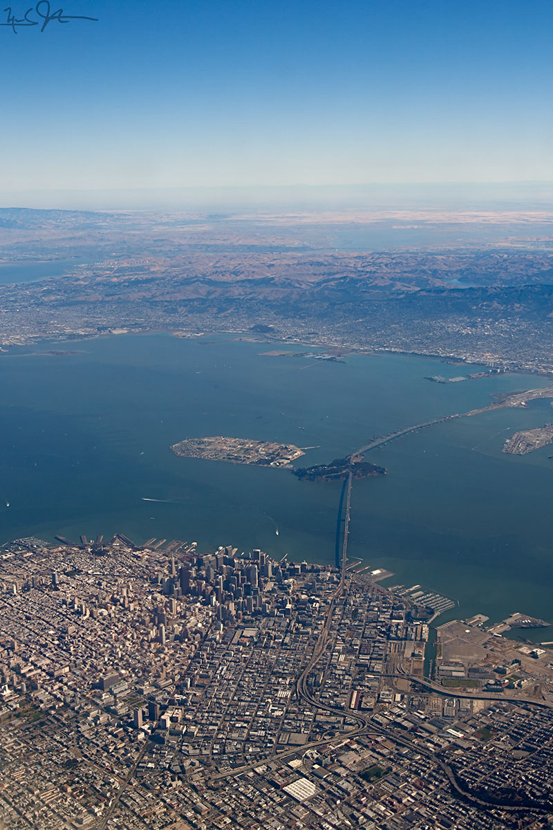 It was always good to see SFO after 10 hours over the Pacific Ocean.