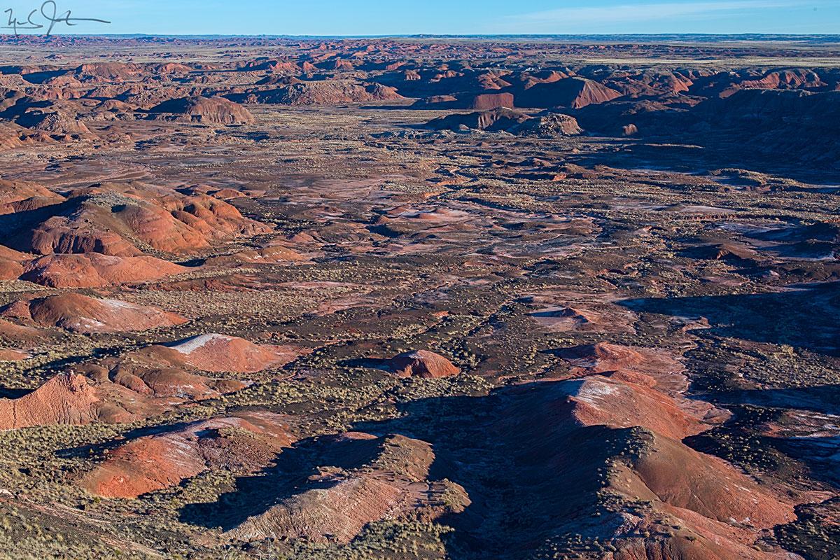 Painted Desert, northeastern Arizona.