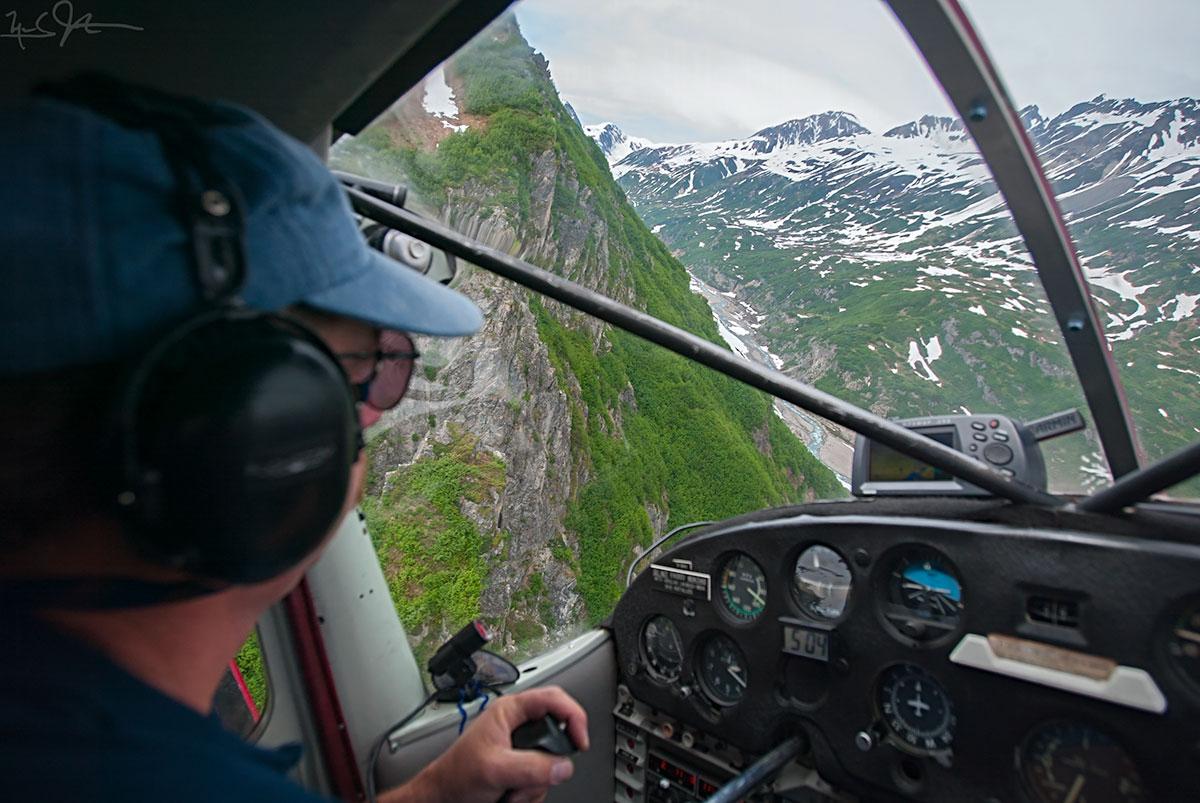 Some glacier hunting in Alaska.