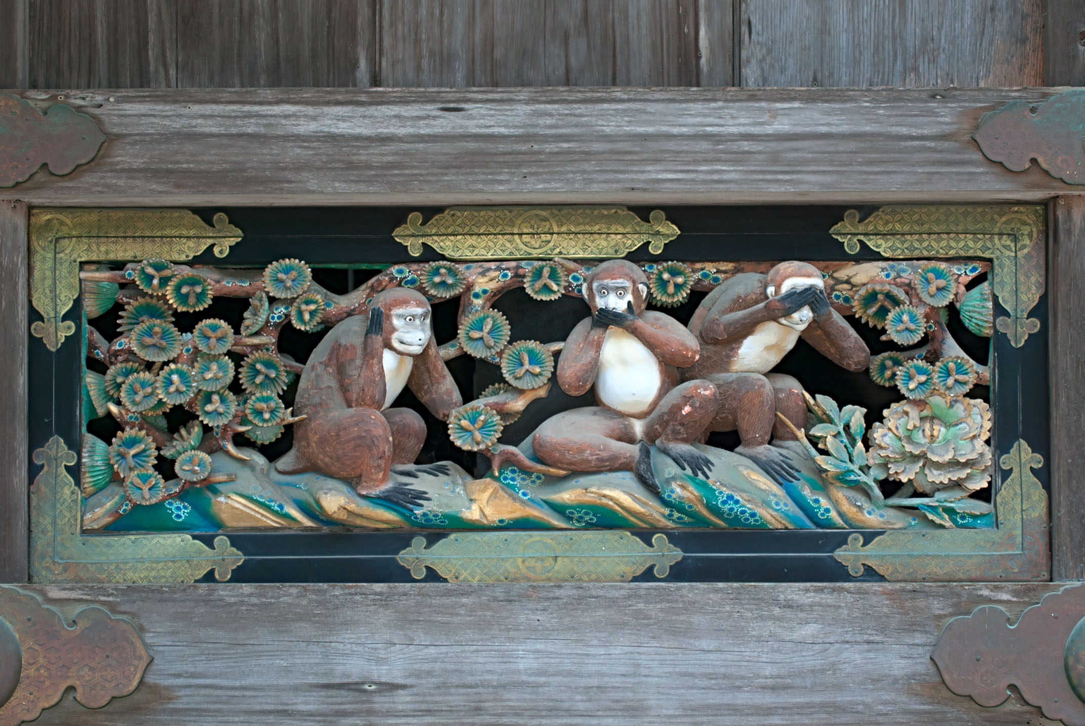Three Wise Monkeys [三匹の猿]