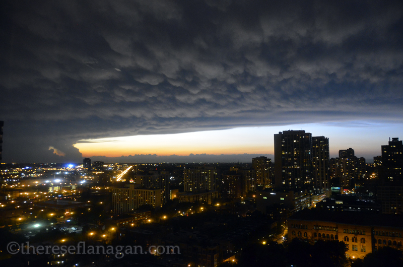 Chicago - End of Summer Storm