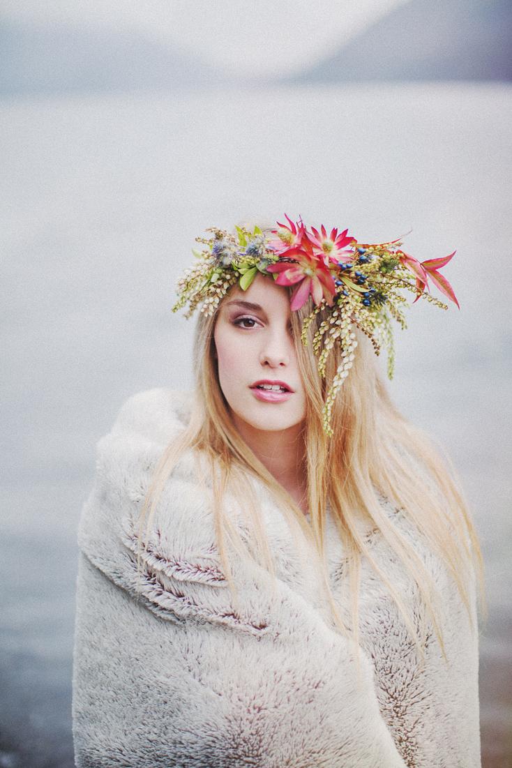 floral crown bridal