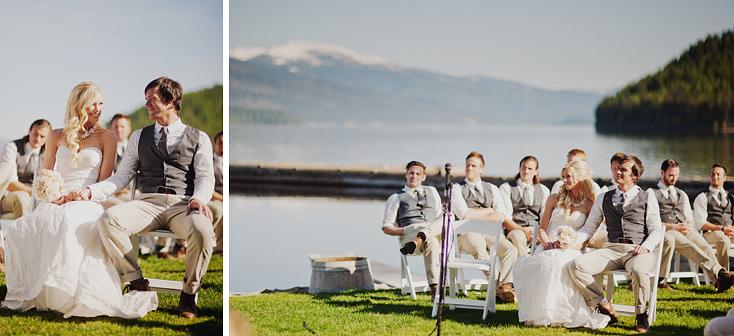 Priest Lake, Idaho wedding by Seattle photographer Ryan Flynn.
