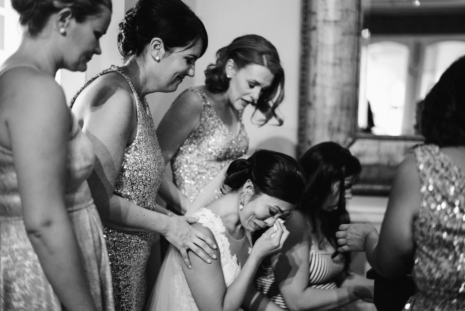 077-tearful-bride-praying-with-bridesmaids-on-leica-m240-by-washington-documentary-photographer-ryan-flynn.jpg
