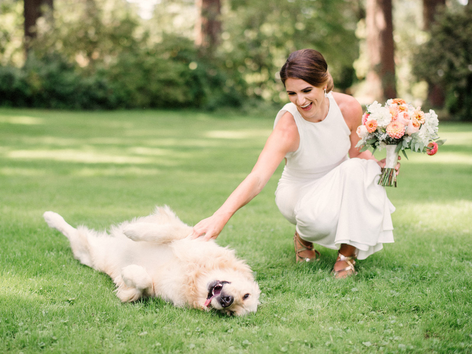 159-bride-and-her-golden-retreiver-in-a-sarah-seven-dress-at-lakewold-gardens.jpg