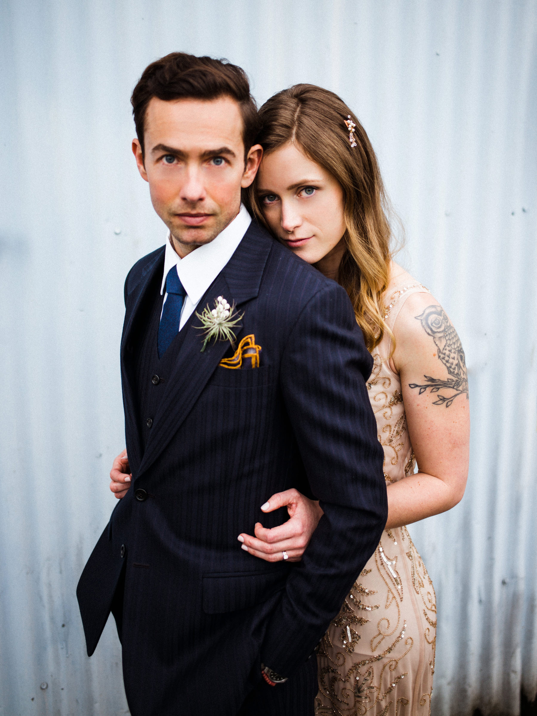 050-urban-wedding-portraits-by-film-photographer-ryan-flynn-in-industrial-area.jpg