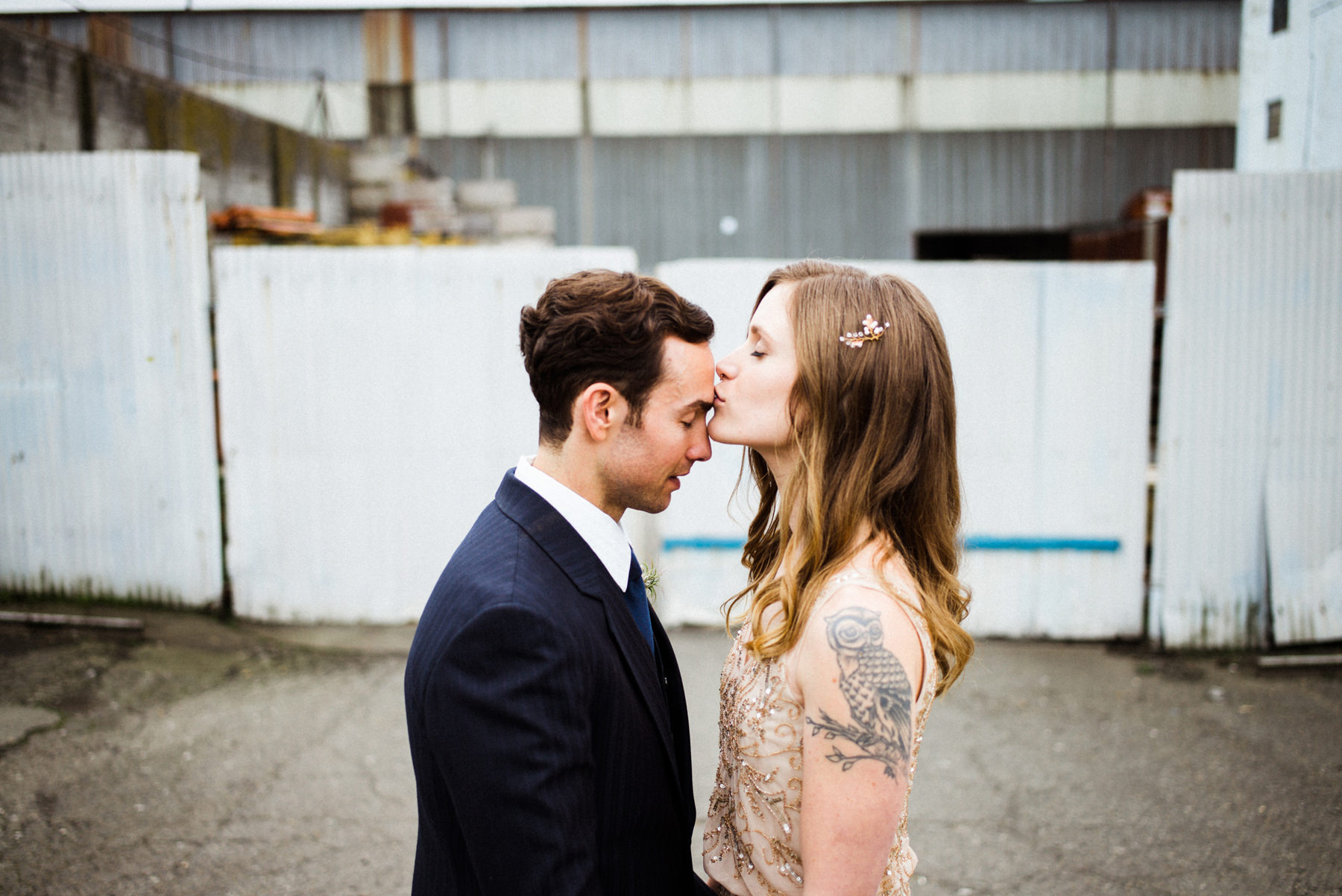 052-urban-wedding-portraits-by-film-photographer-ryan-flynn-in-industrial-area.jpg