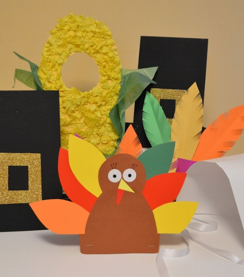Thanksgiving theatrics props, courtesy What Happens at Grandma's