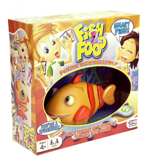 FISH FOOD — Ages 4 years and up; 1-4 players (Sorry, no video for this one)