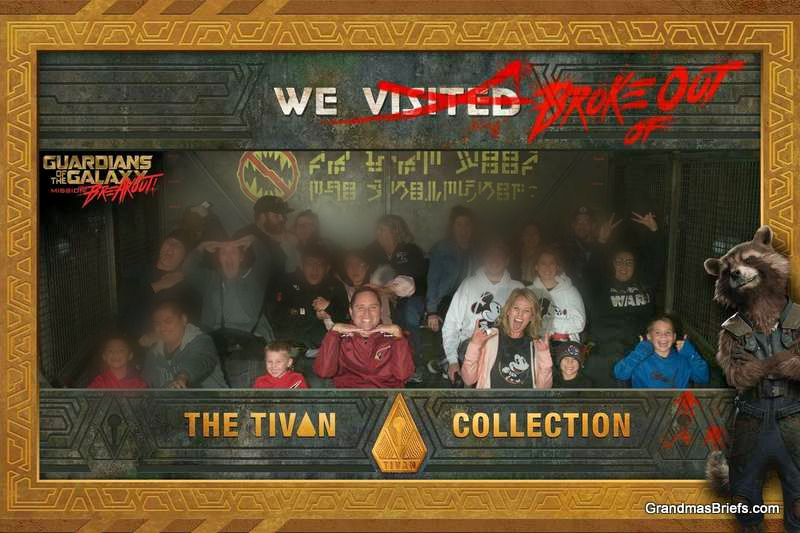 The family's favorite ride at Disneyland — which they braved multiple times!