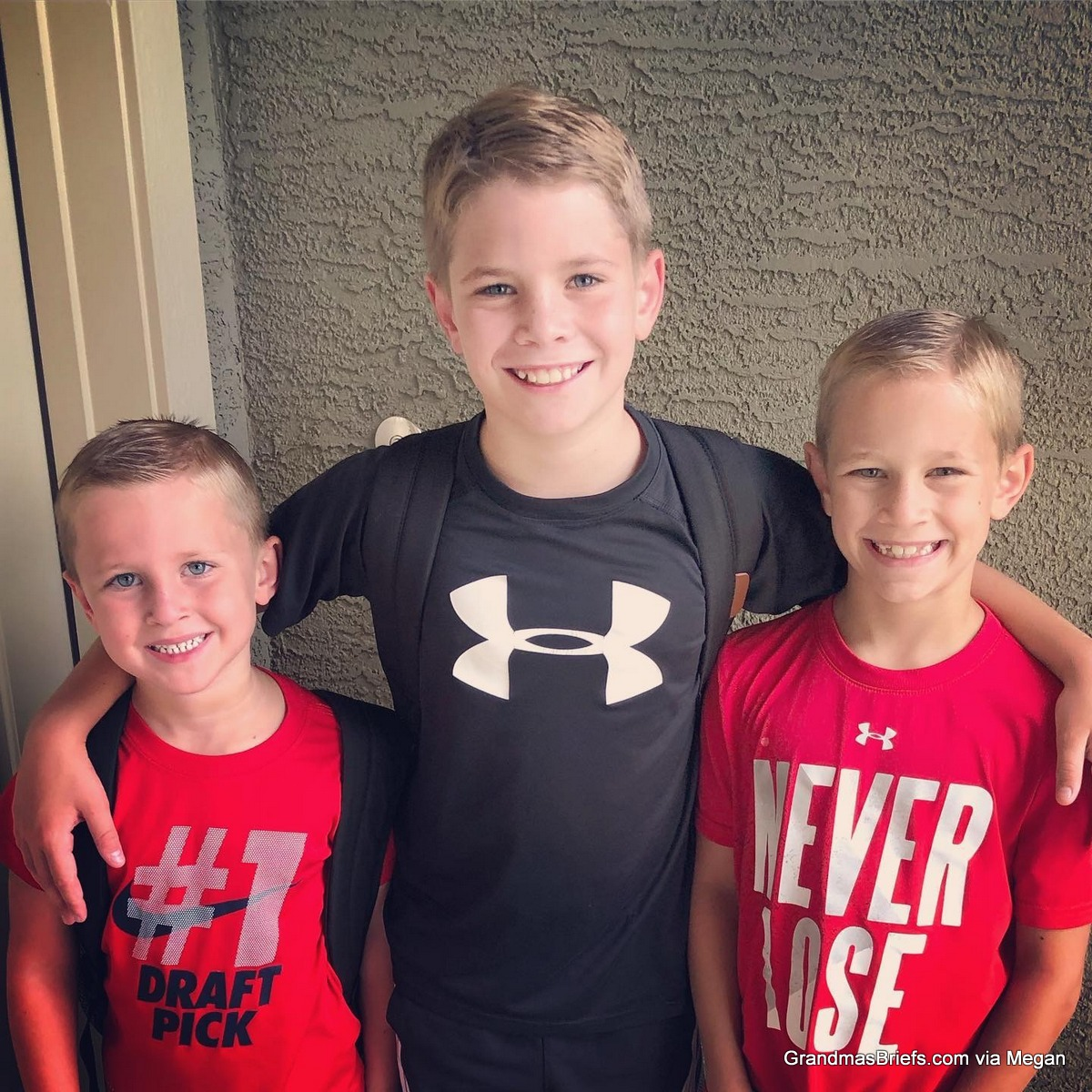 BTS 2019! Declan's first day of Pre-K, Brayden sixth grade and Camden second grade