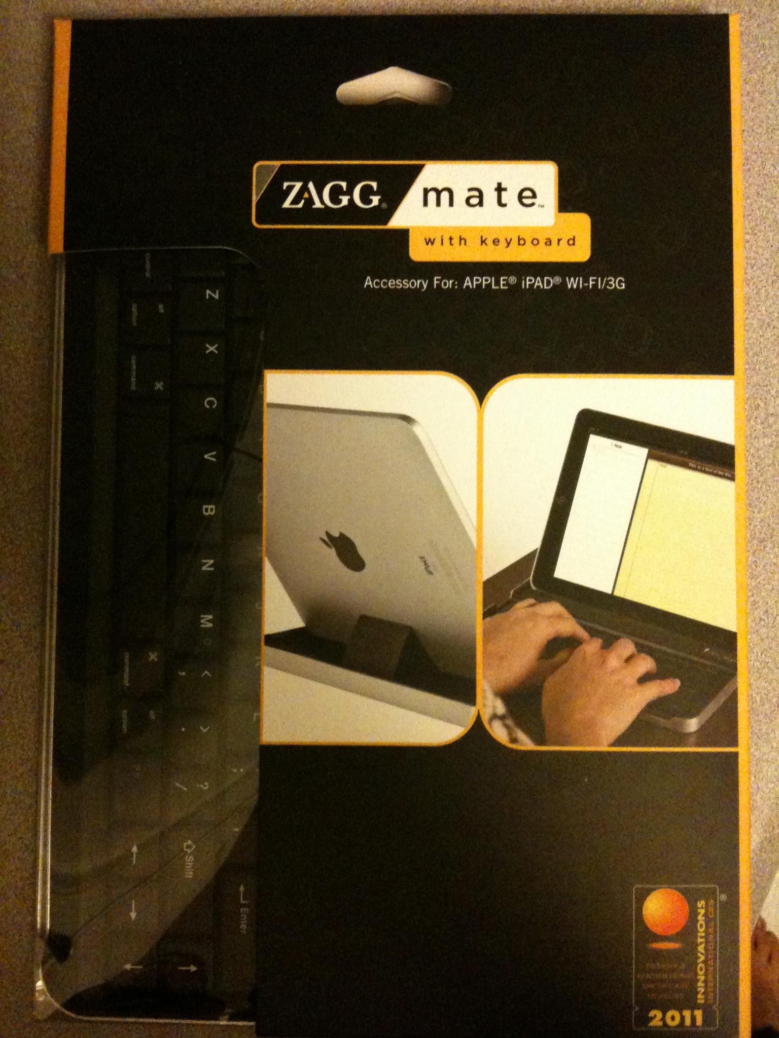 ZAGG Mate iPad keyboard
