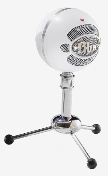Blue Snowball microphone