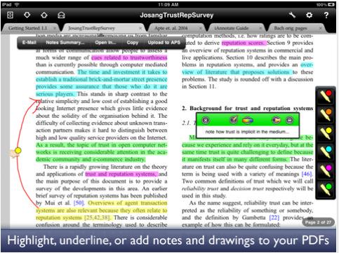 iAnnotate PDF editor
