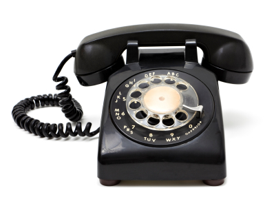 Dial up telephone