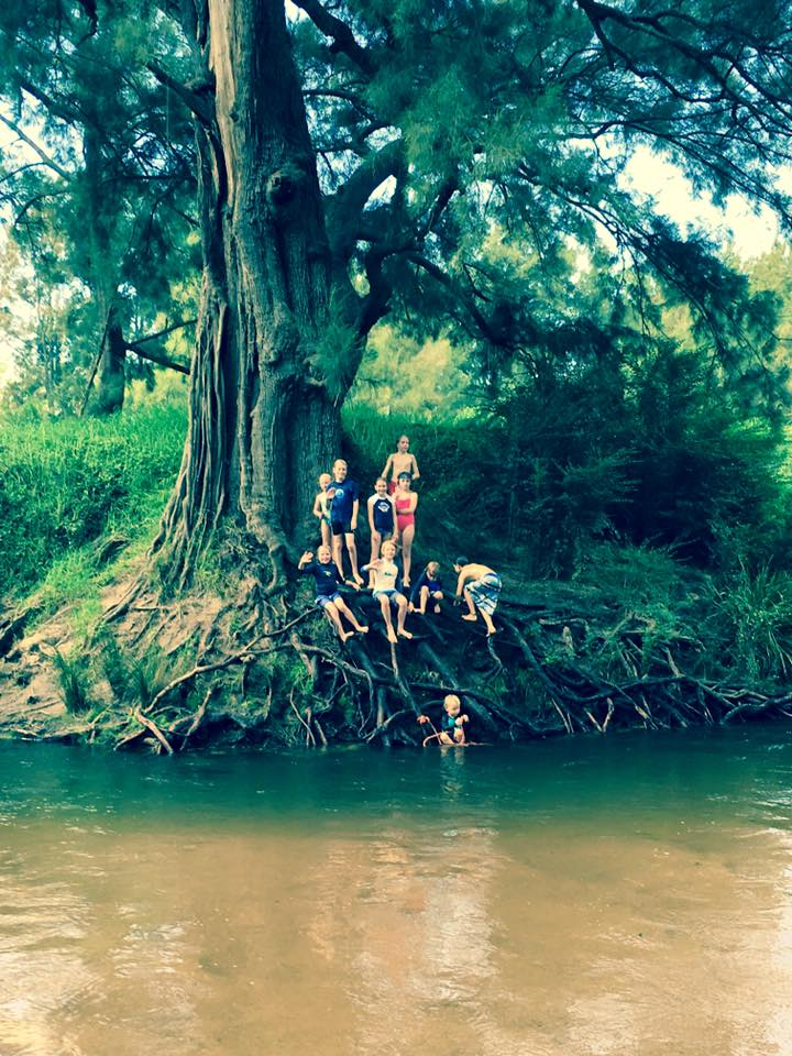 The Bega River, photo by  Mrs Medine