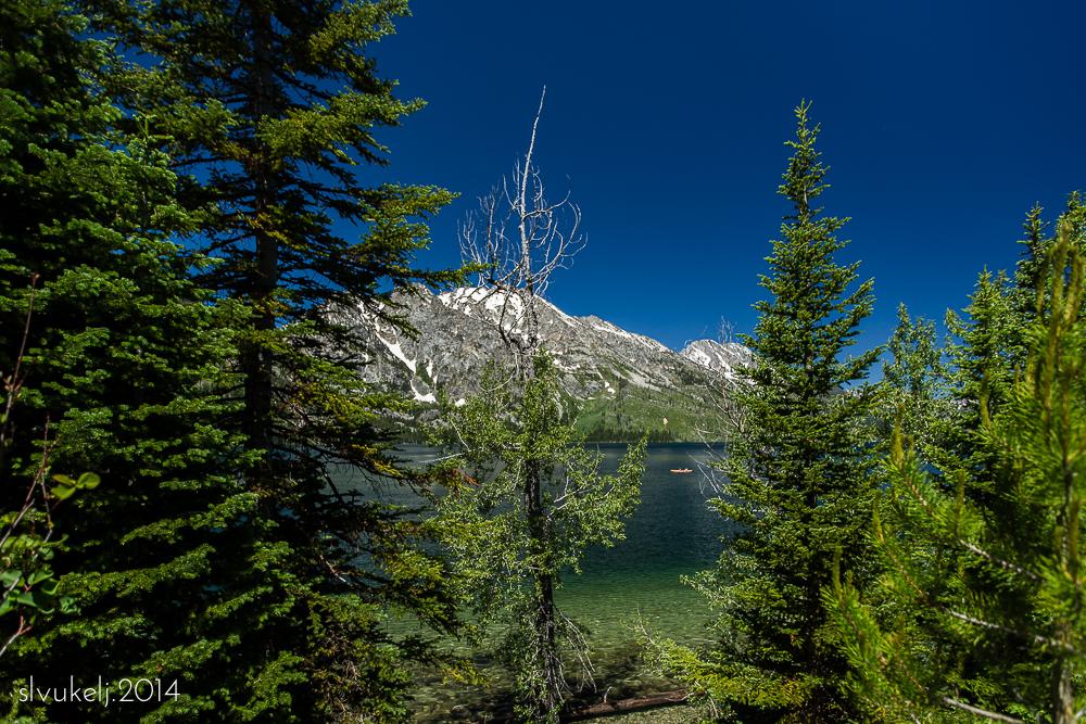 Orange Kayak - Grand Teton National Park, WY