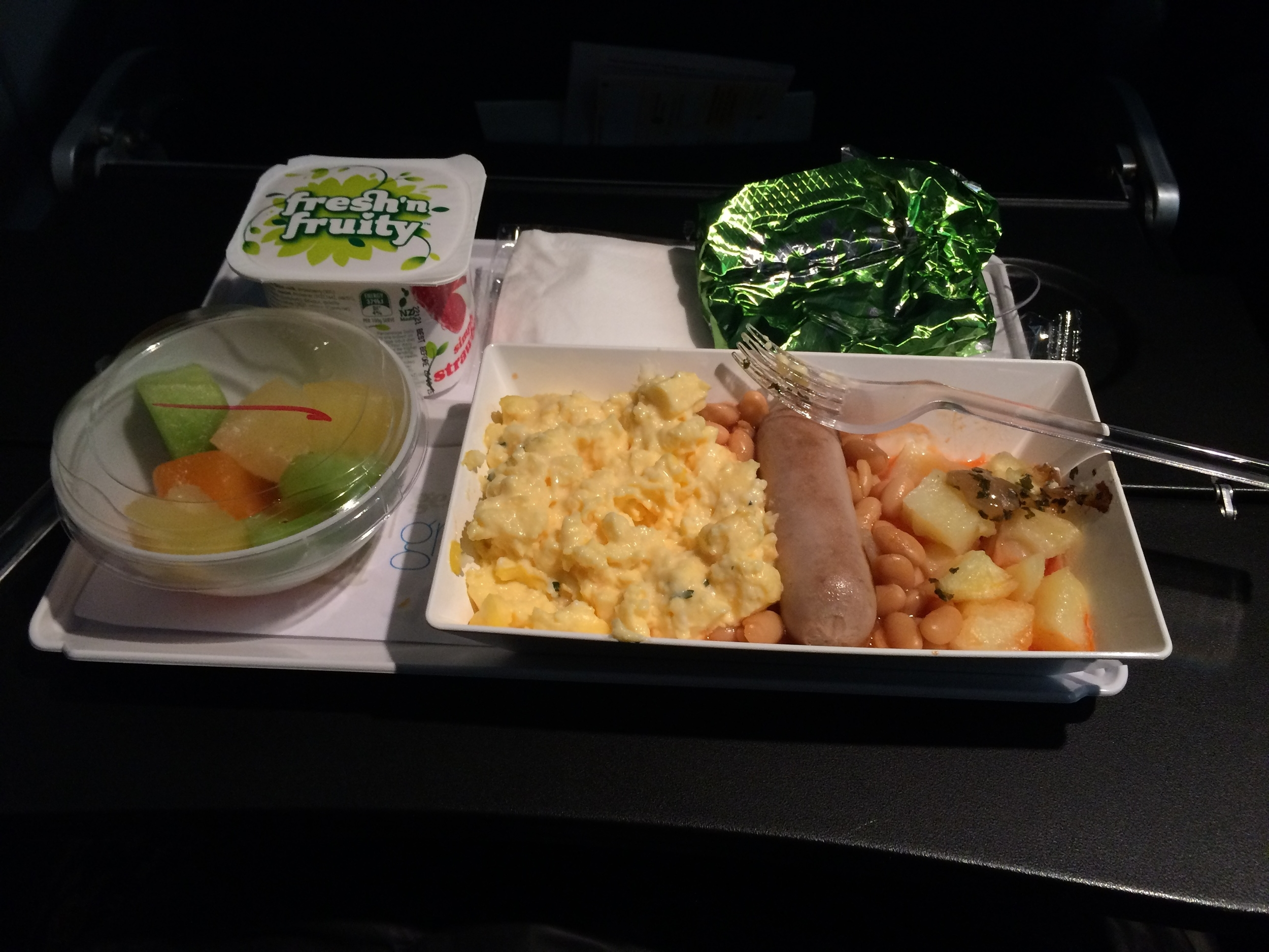 Air NZ Breakfast!