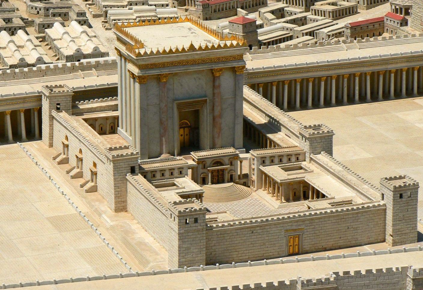 King Herod's building project. Eventually, people realized that world-changing mission that endures wasn't about the endurance of the building. (Photo credit: Accordance Bible Software.)