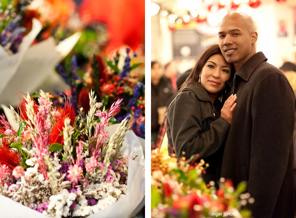 seattle-engagement-photo-indoor-flowers-latino-couple-pike-place.jpg