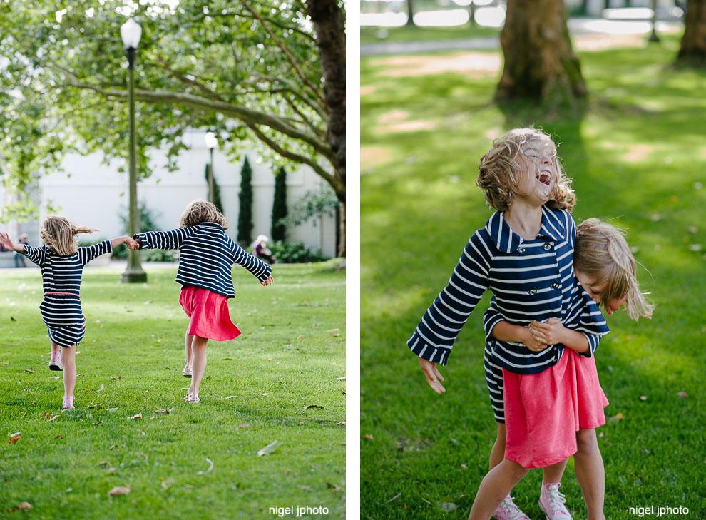 family-photos-seattle-eastside-sisters-skipping-in-park.jpg