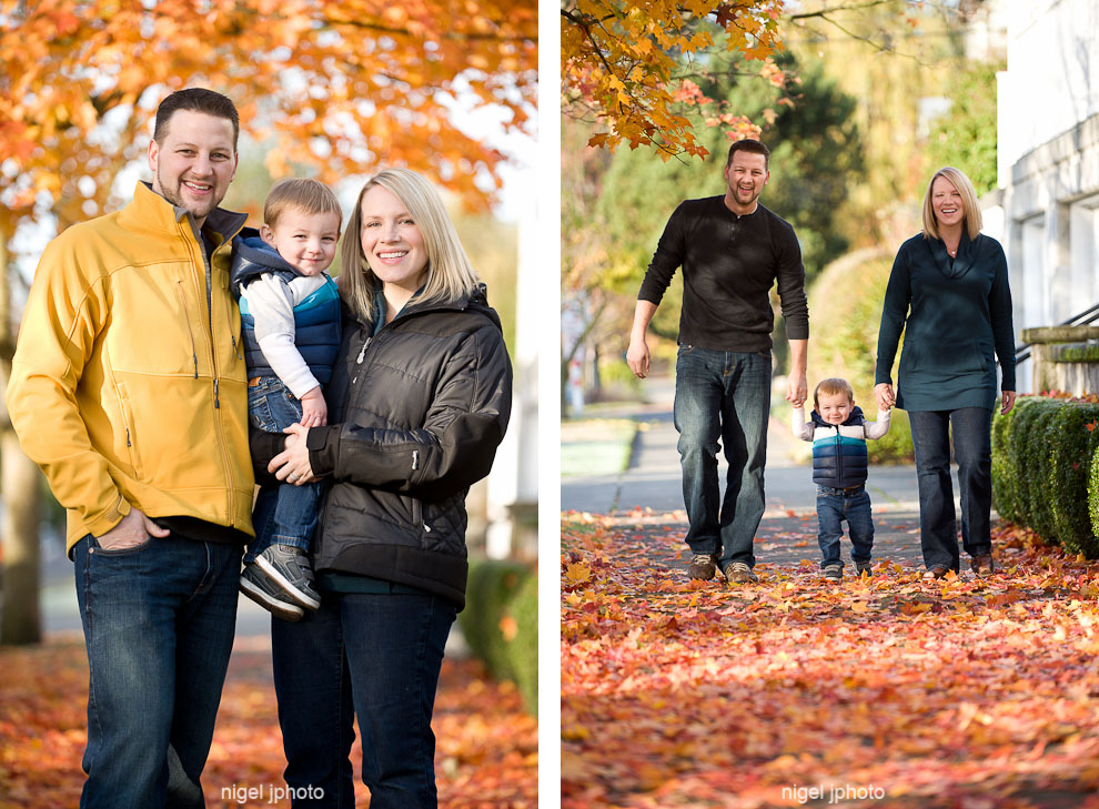 portait-young-couple-with-todler-son-fall-leaves-seattle-vert2.jpg