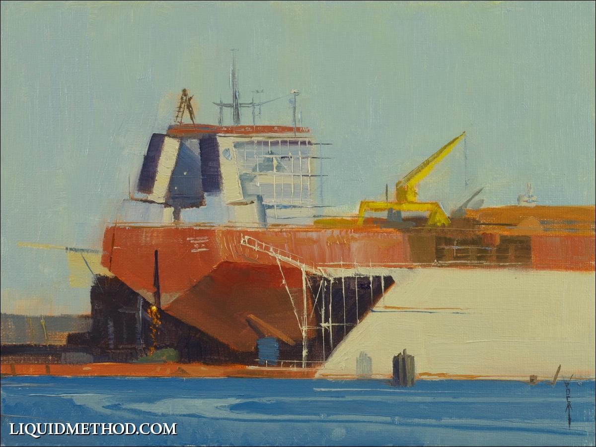 Afternoon Ship Welder