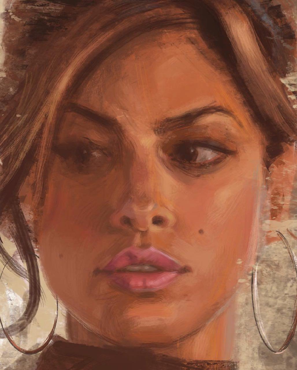 Eva Mendez Detail