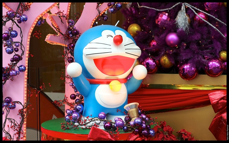 Doraemon celebrating his 100 birthday at Fahrenheit 88