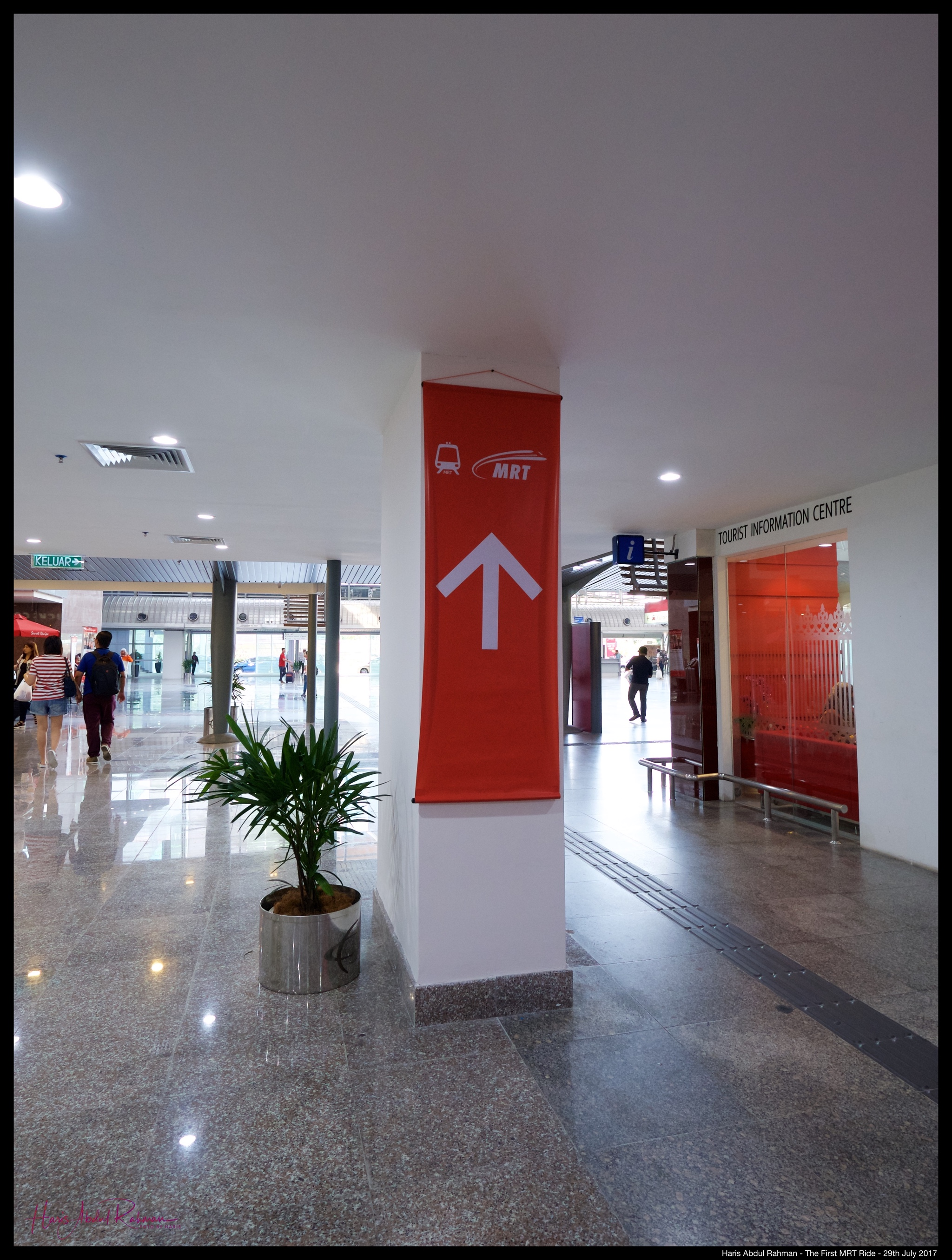 This way ...