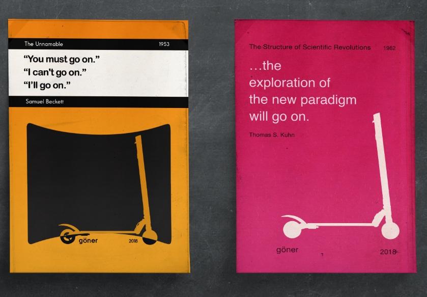 Book cover concept designs for göner.