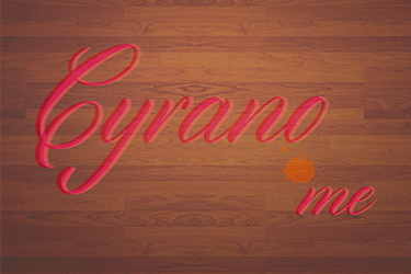 wordmark for love letter concept
